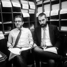 Francesco Mollame e Matteo Mantero del M5S